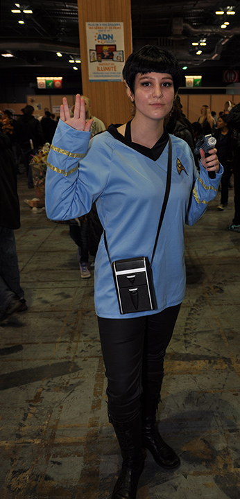 Paris Manga 2014-02 — Miss Spock