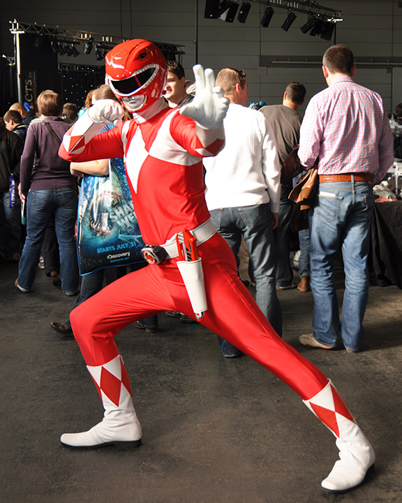 F.A.C.T.S. 2011 — Power Ranger rouge