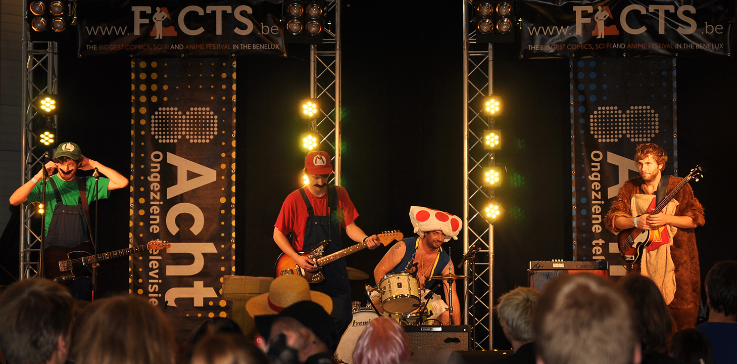 F.A.C.T.S. 2012 — The Super Mario Brothers All Stars Band